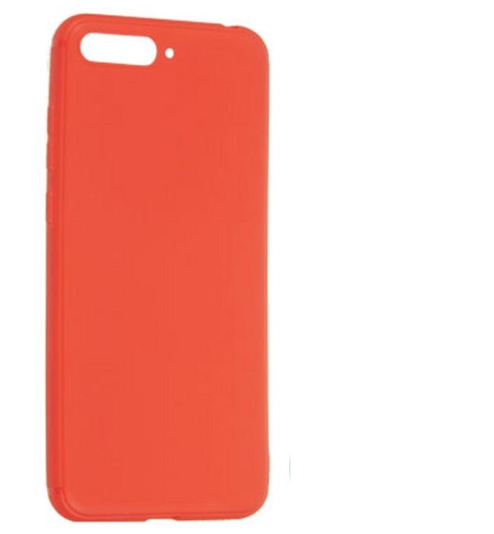Чехол Huawei Honor 7A /Y5 Prime (2018) Soft Touch (красный)