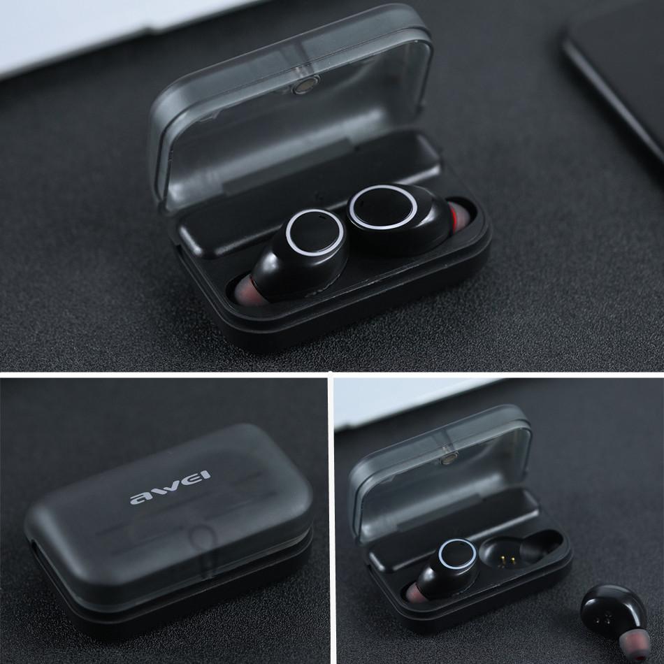 Bluetooth-гарнитурa Awei T3  черный