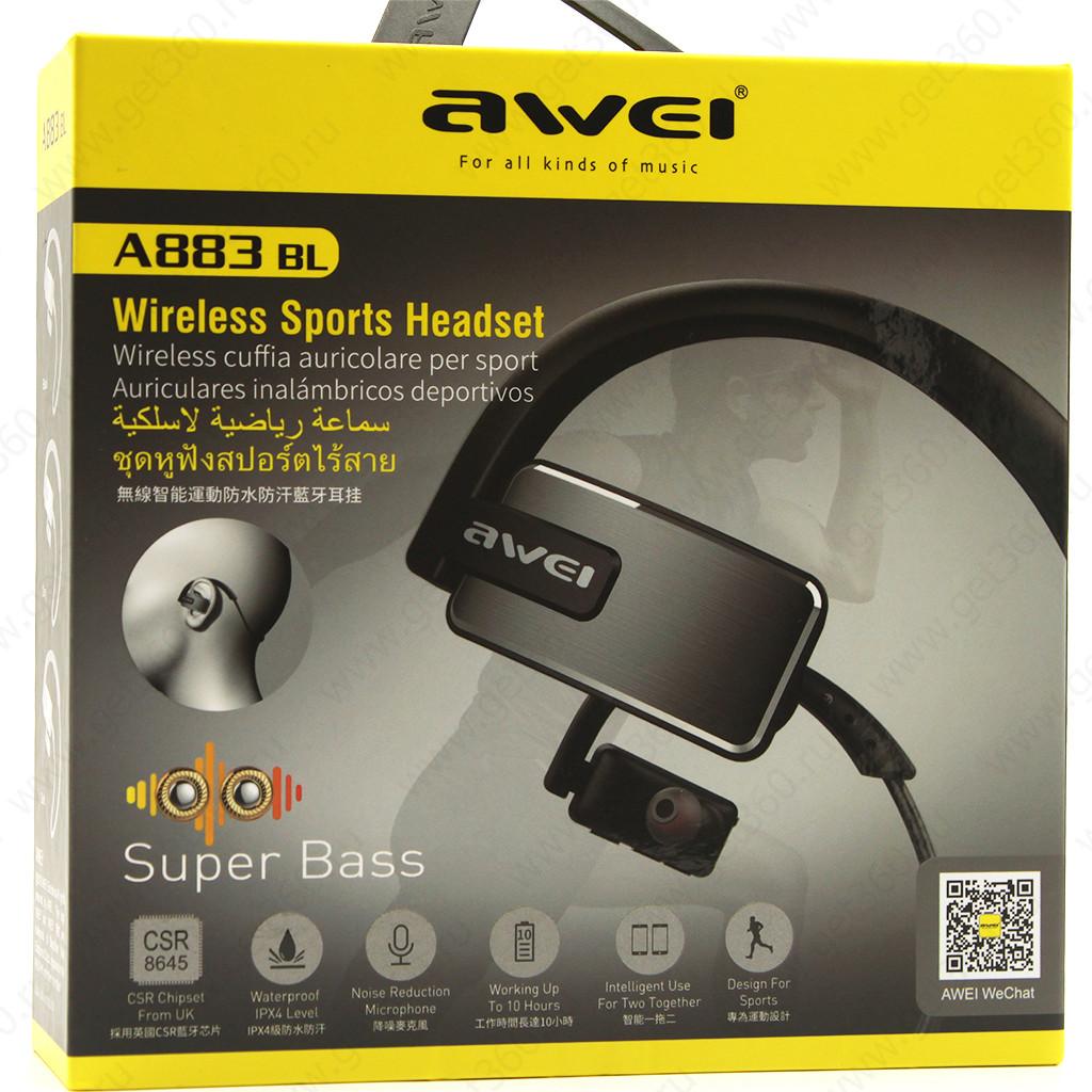 Bluetooth-гарнитурa Awei A883Bl