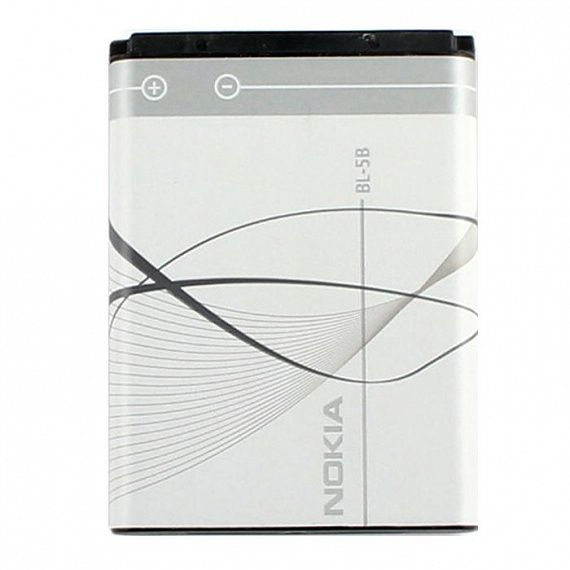 АКБ Nokia BL-5B  6060 / 3220 / 3230 / 5070 / 5140 / 5200 /...