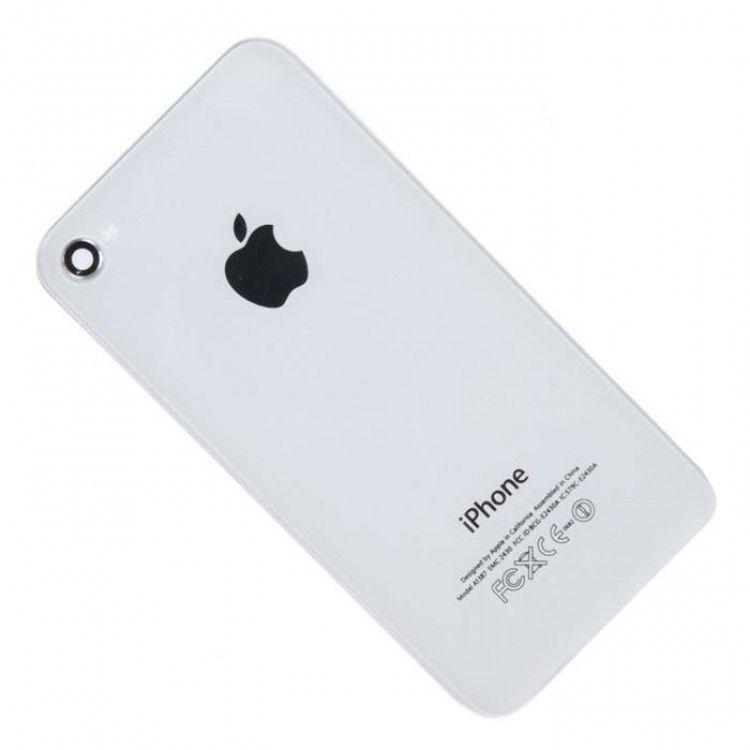 Задняя крышка iPhone 4 белый...