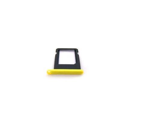 Контейнер SIM iPhone 5C Желтый