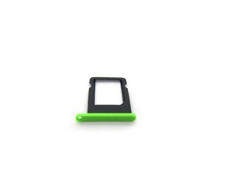 Контейнер SIM iPhone 5C Зеленый