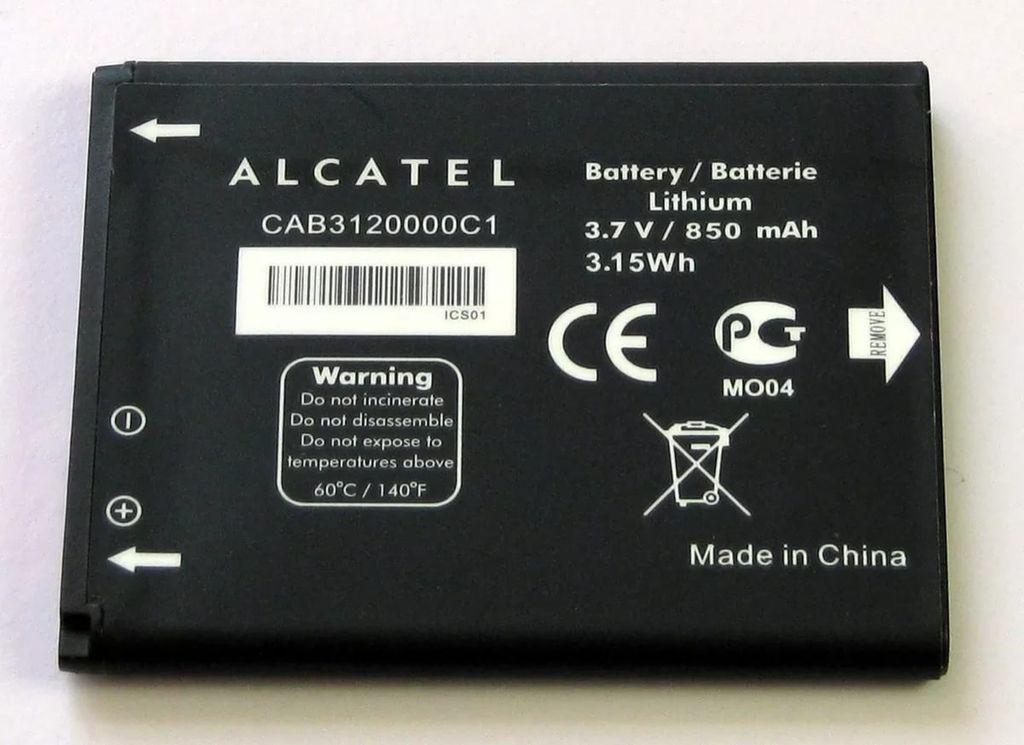 АКБ Alcatel CAB31L0000C1 OT2004D / 282 / 813 / 813D / 813F...