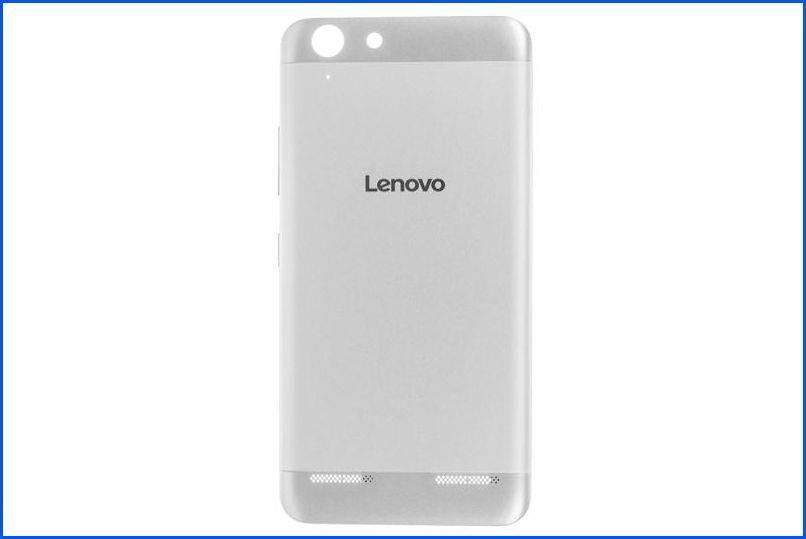 Задняя крышка Lenovo Vibe K5 Plus Серебро...
