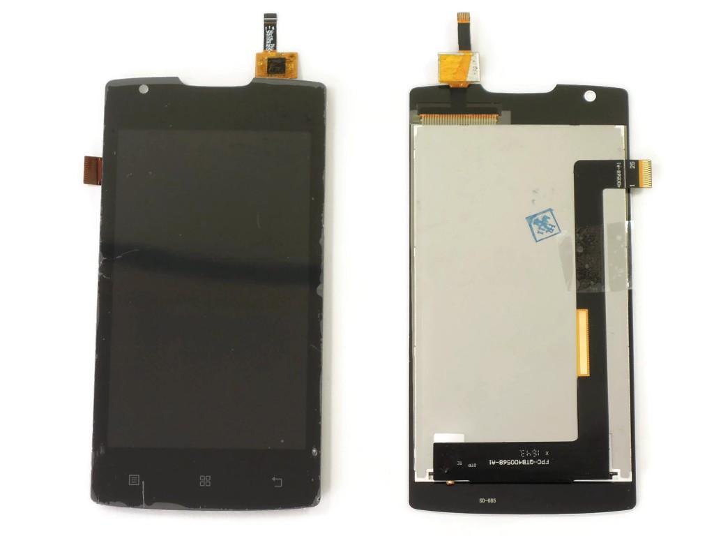 Дисплей Lenovo A680 в сборе черный...