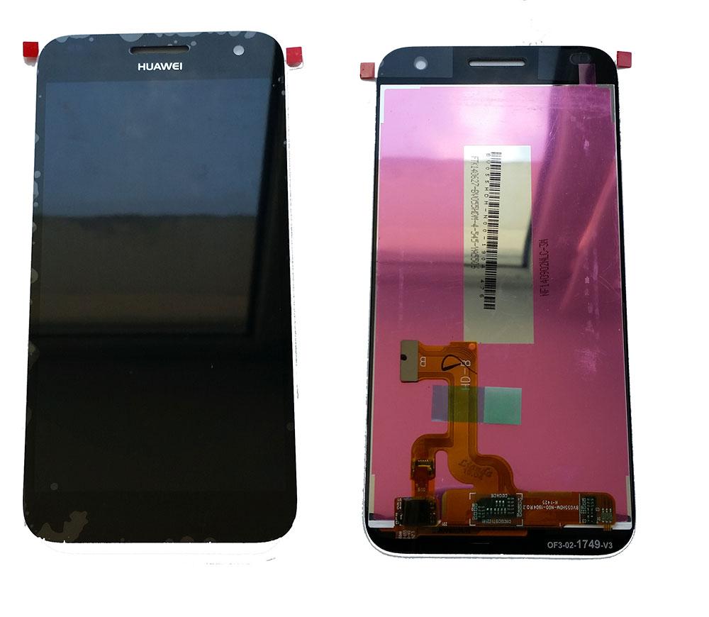 Дисплей Huawei G7 в сборе черный...