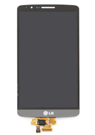 Дисплей LG D855 G3 в сборе серый...