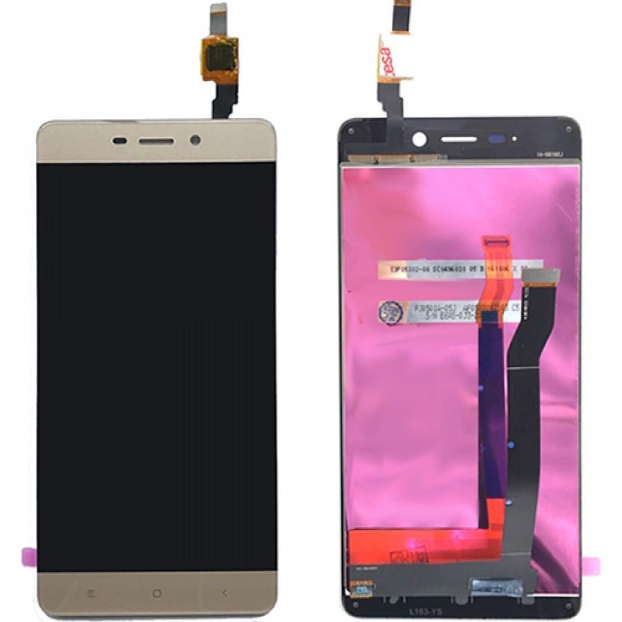Дисплей Xiaomi Mi 4s в сборе золото...