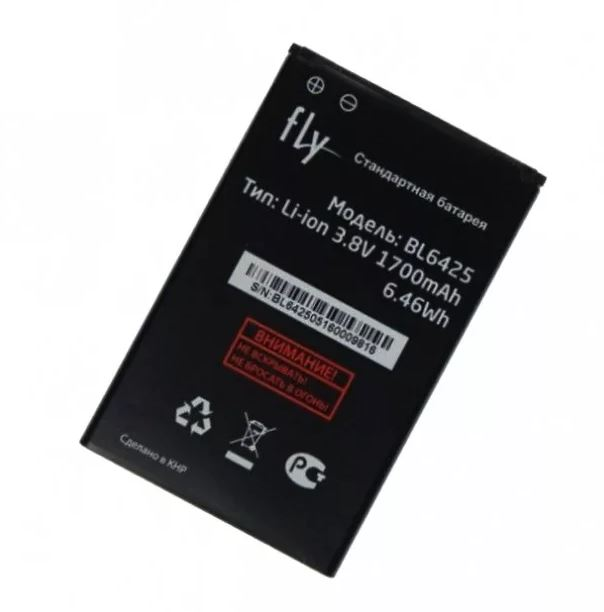 АКБ Fly BL6425  FS454 / FS455 / FS456 / FS457 ...