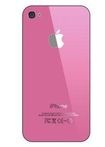 Задняя крышка iPhone 4S розовый...