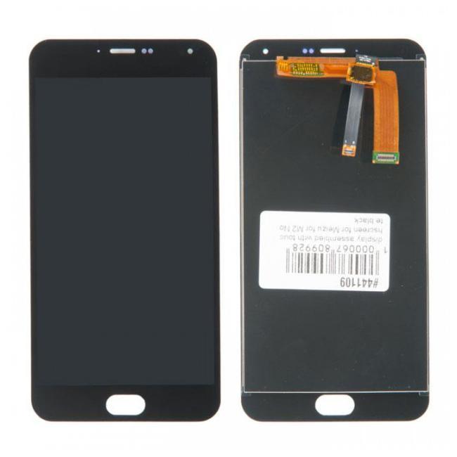Дисплей Meizu M2 Note в сборе черный...