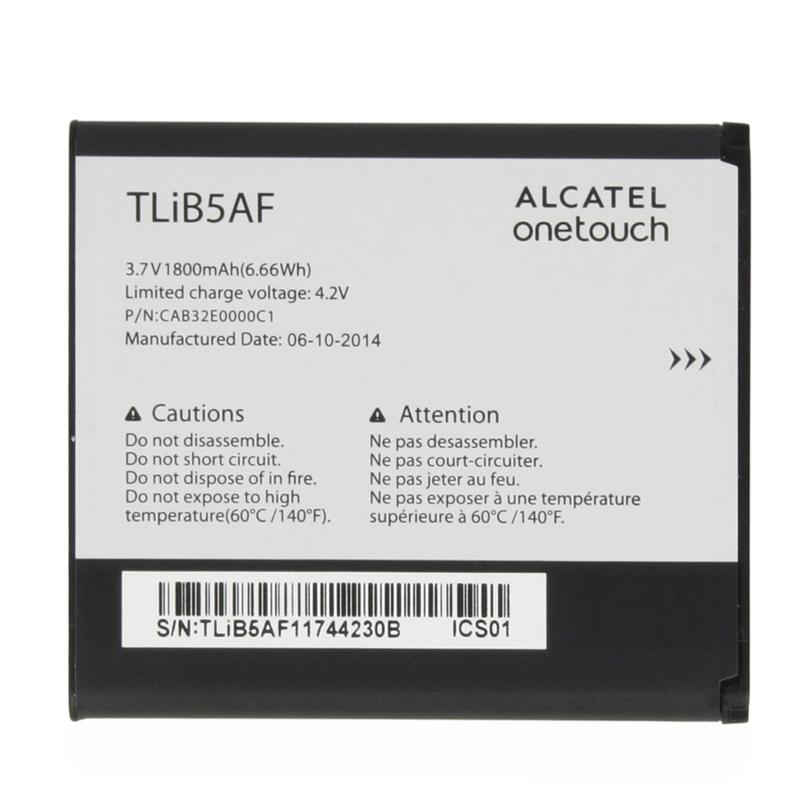 АКБ Alcatel TLiB5AF 997 / 997D / 5035X / 5035D / 5035E...