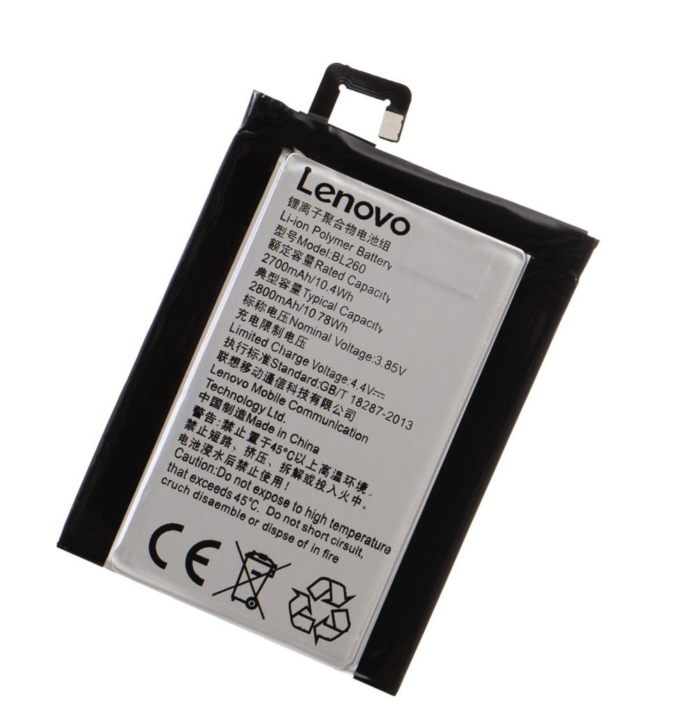 АКБ  Lenovo BL260  Vibe S1 Lite ...