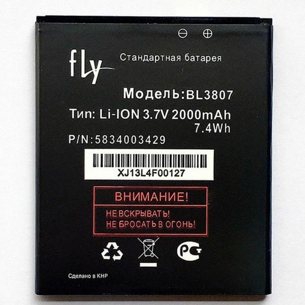 АКБ Fly BL3807 IQ454 / Evo Tech1...