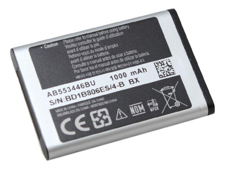 АКБ Samsung AB553446BU B100 / C5212 / C3212 / C3300 /...