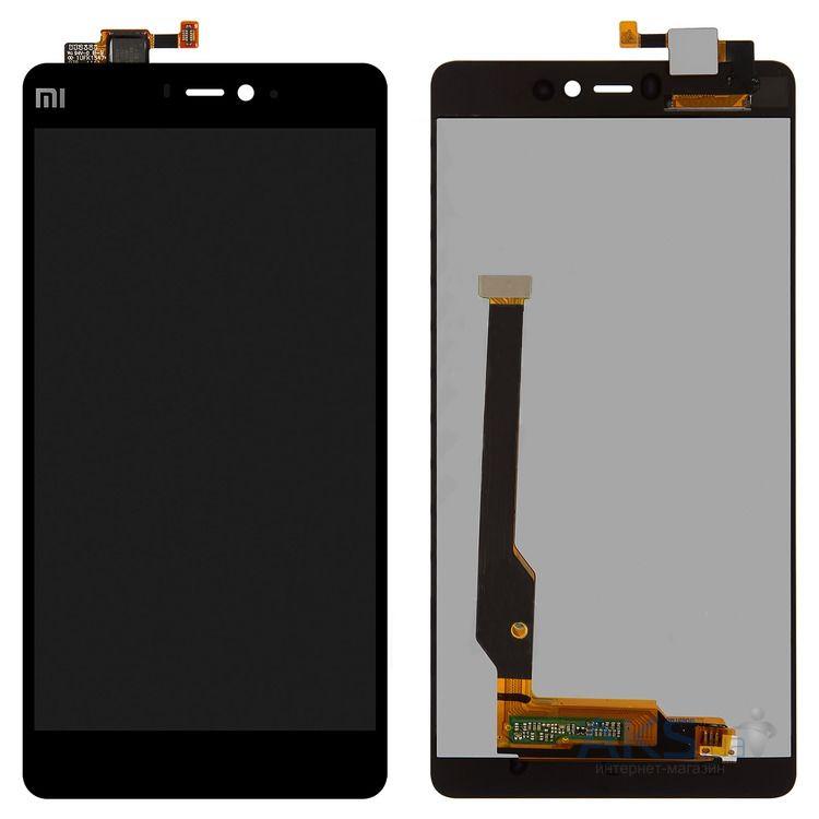 Дисплей Xiaomi Mi 4i в сборе черный...