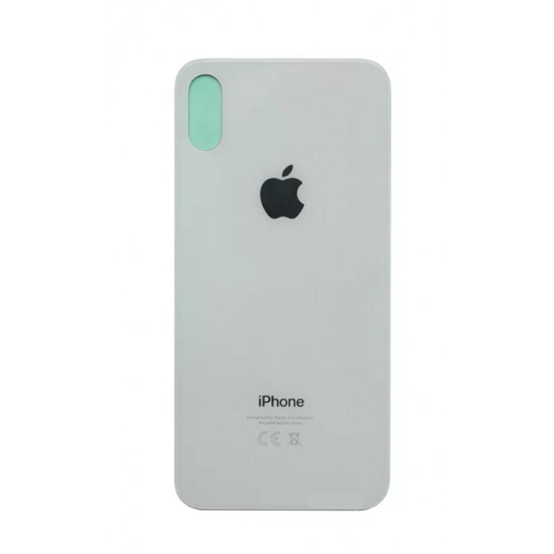 Задняя крышка iPhone X стекло белый...