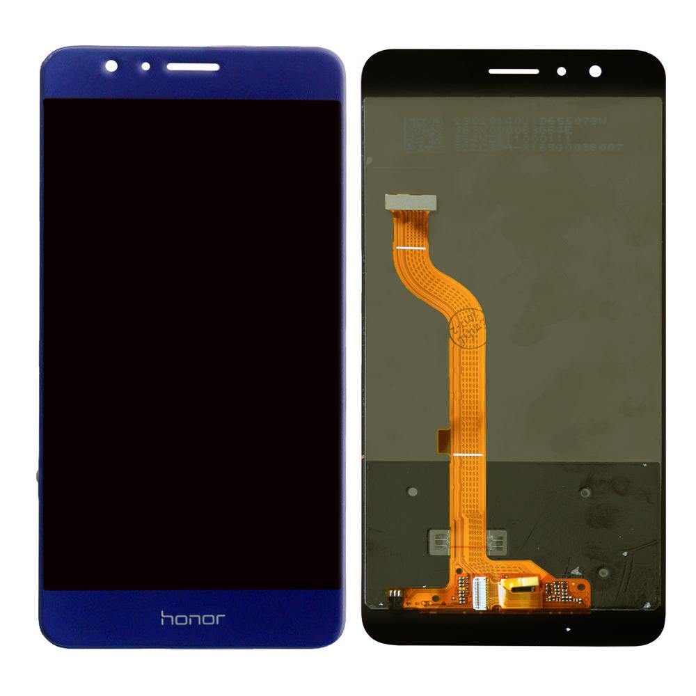 Дисплей Huawei Honor 8 в сборе  синий...