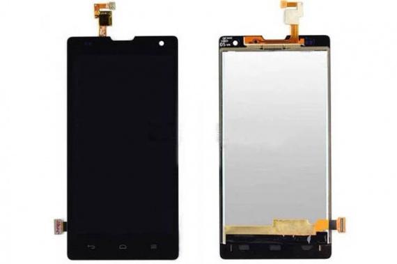 Дисплей Huawei Honor 3C в сборе черный...