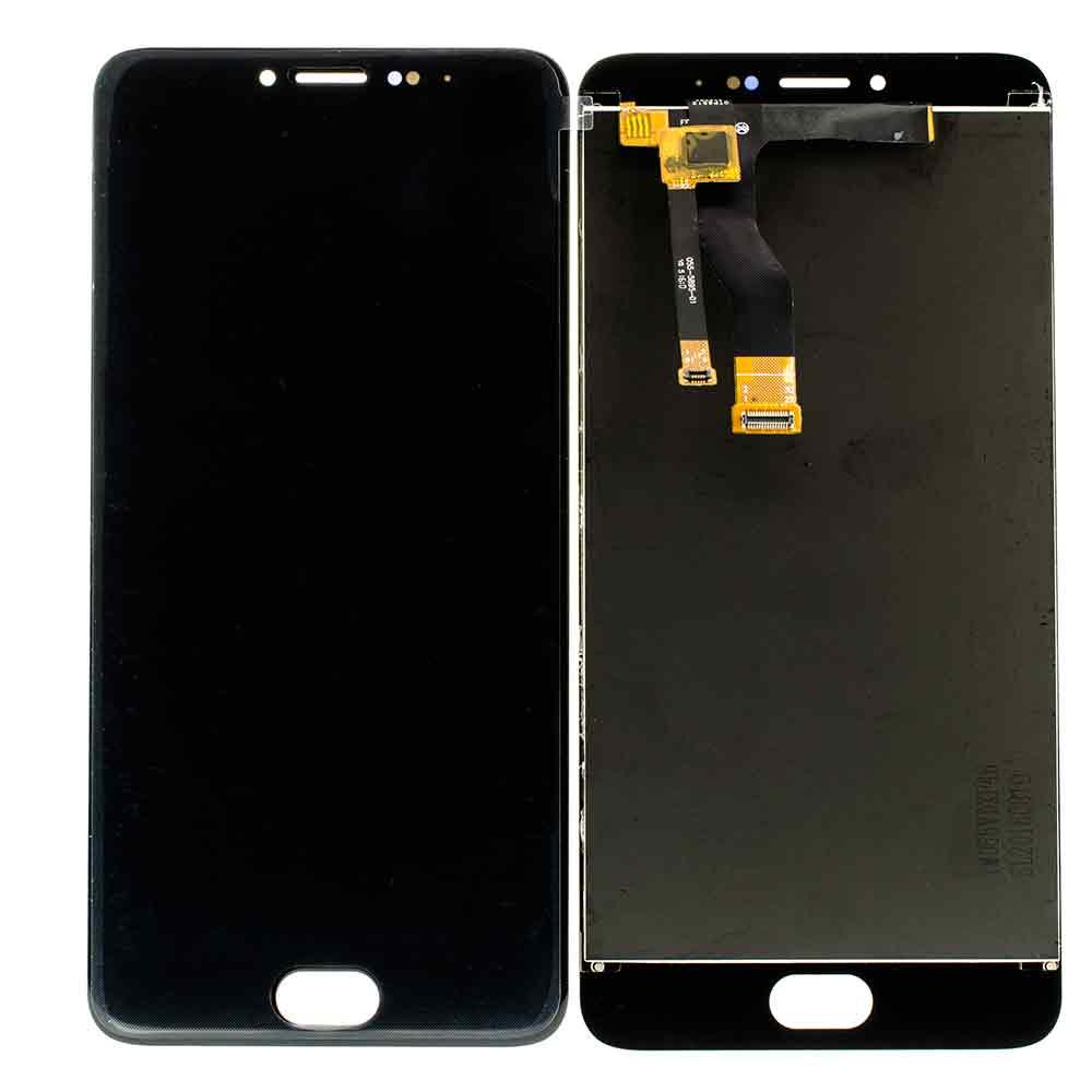 Дисплей Meizu M3 Note M681 в сборе черный...