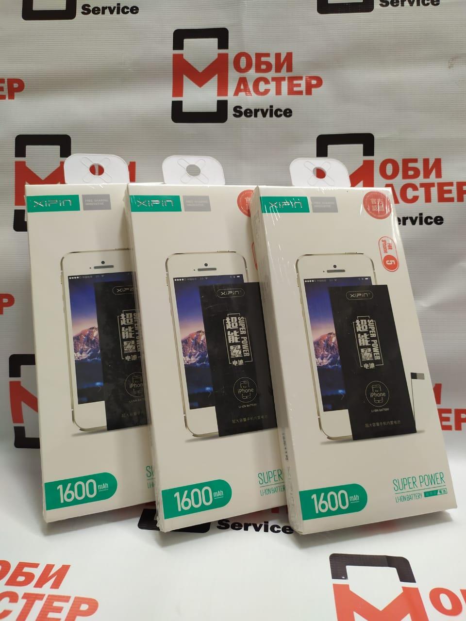 АКБ iPhone 5 Xipin Повышенной Ёмкости