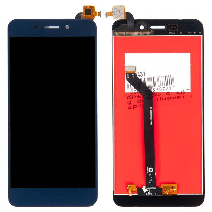Дисплей Huawei Honor 6C Pro в сборе синий...