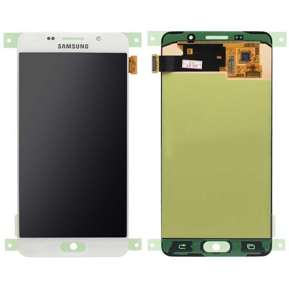 Дисплей Samsung A510F в сборе TFT белый...