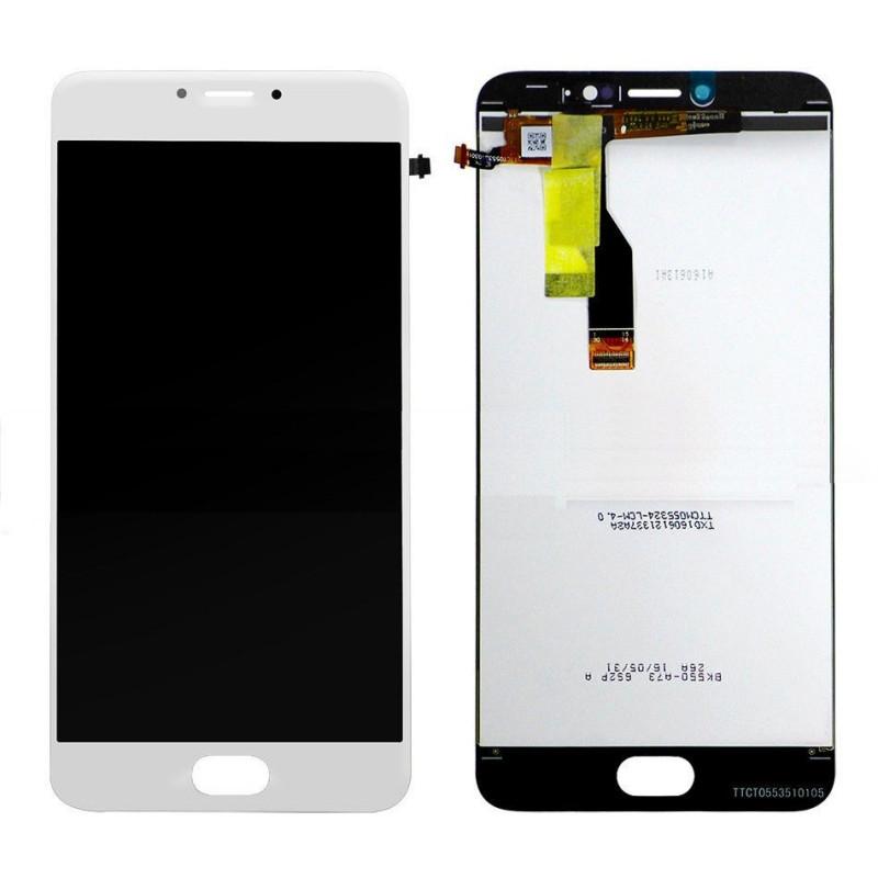 Дисплей Meizu M3 Note M681H в сборе белый...