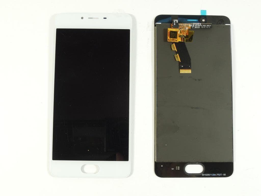 Дисплей Meizu M3s /  M3s mini в сборе белый...