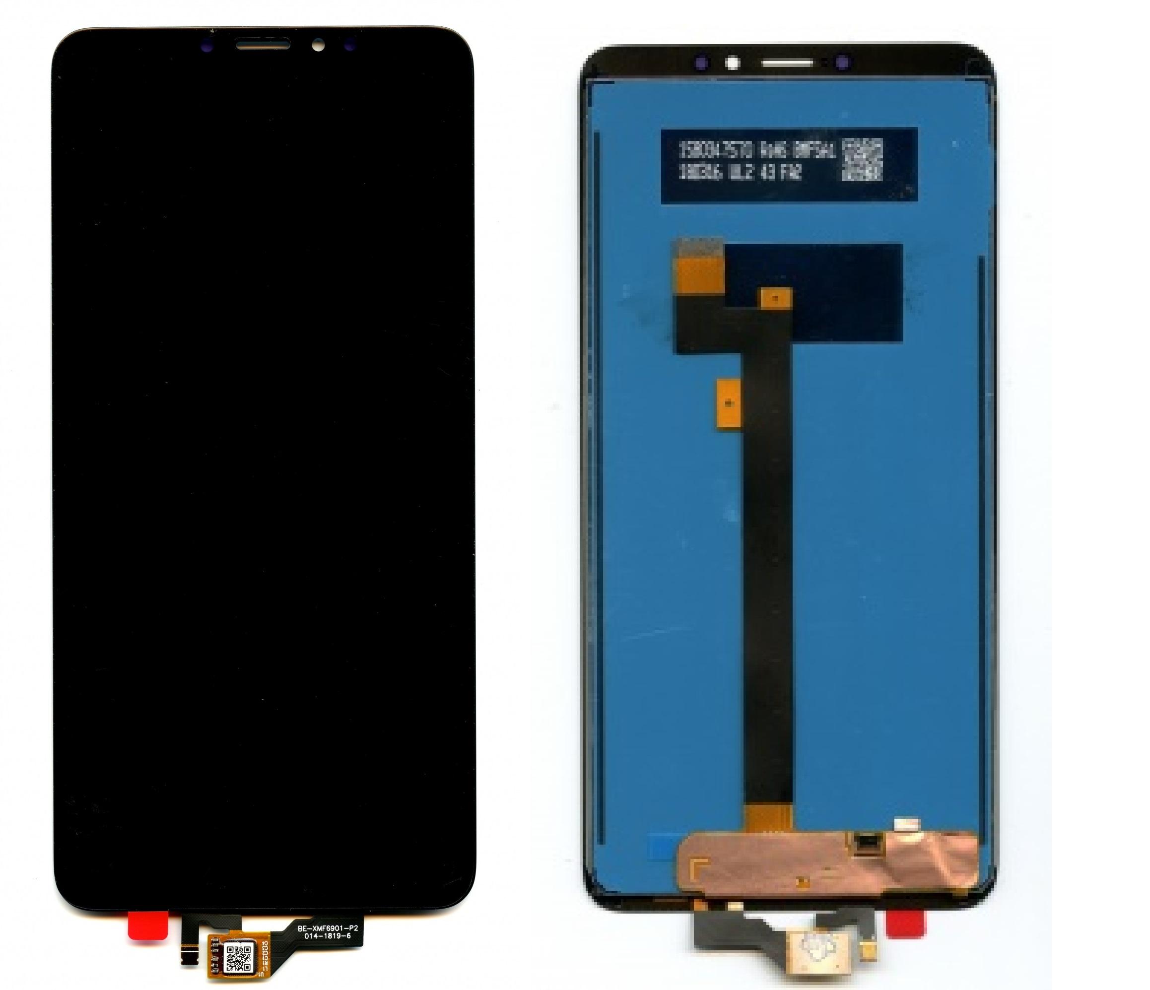 Дисплей Xiaomi Mi Max 3 в сборе черный...