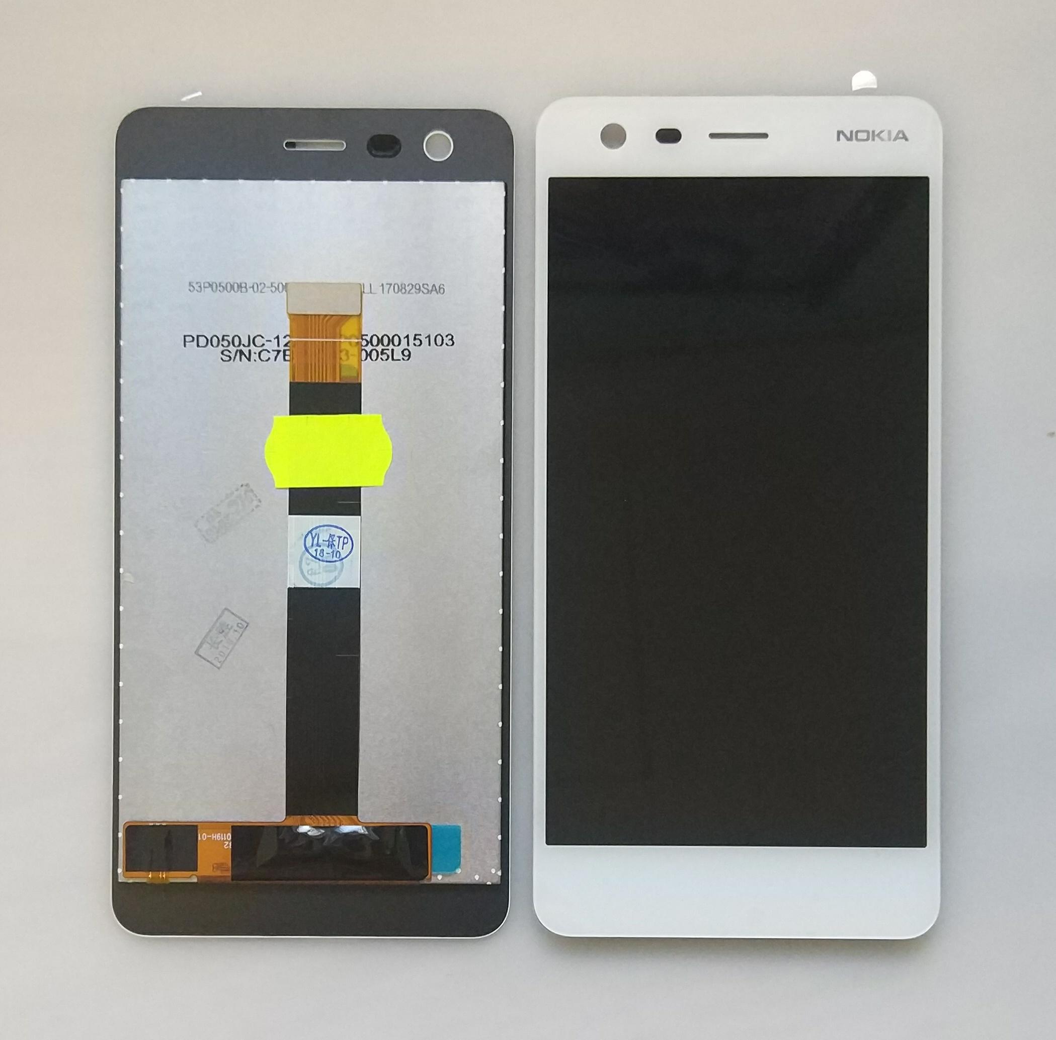 Дисплей Nokia 2 в сборе белый...
