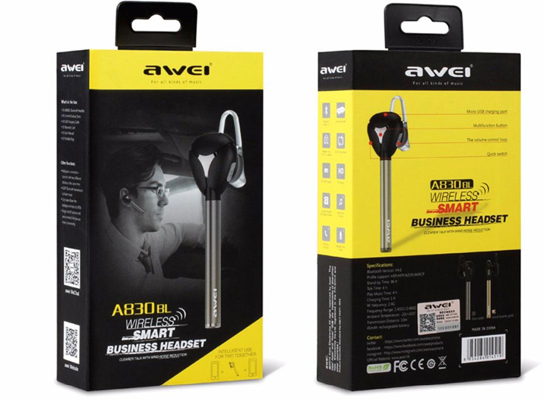 Bluetooth-гарнитурa Awei A830Bl