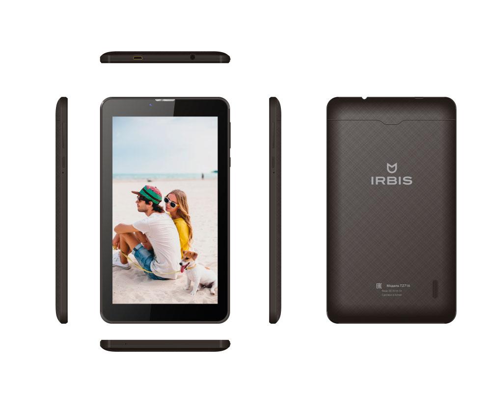Планшет IRBIS TZ 725 3G Black...