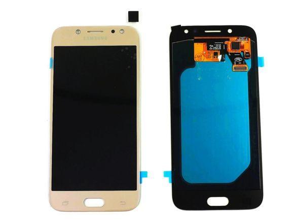 Дисплей Samsung J530 в сборе TFT золото...