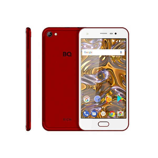 Смартфон BQ 5012L Rich Gold 5 1Gb / 8Gb LTE 2sim Red...