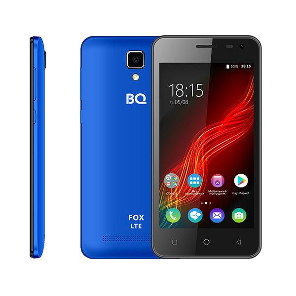 Смартфон BQ 4500L Fox 4.5 1Gb / 8Gb LTE 2sim Blue...
