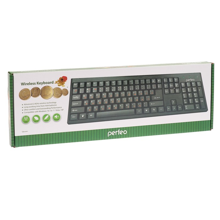 Клавиатура беспроводная Perfeo Cheap...