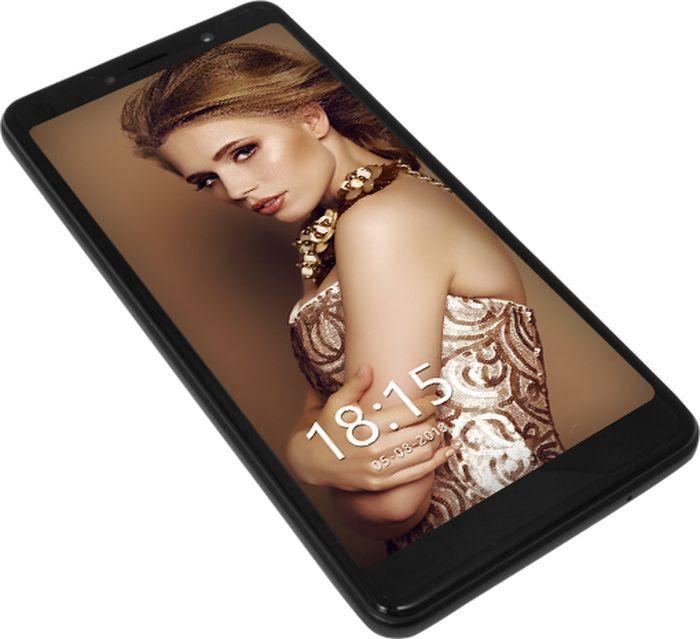 Смартфон BQ 5520L Silk 5.45 1Gb / 8Gb LTE 2sim Black...