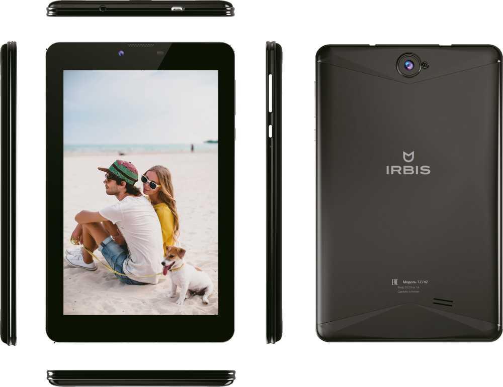 Планшет IRBIS TZ 742 7.0 Wi-Fi 1 / 16GB 3G LTE Black...