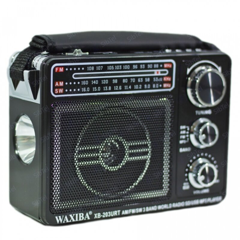 FM-Приемник Waxiba XB-203 SD / MicroSD / USB / AUX /...