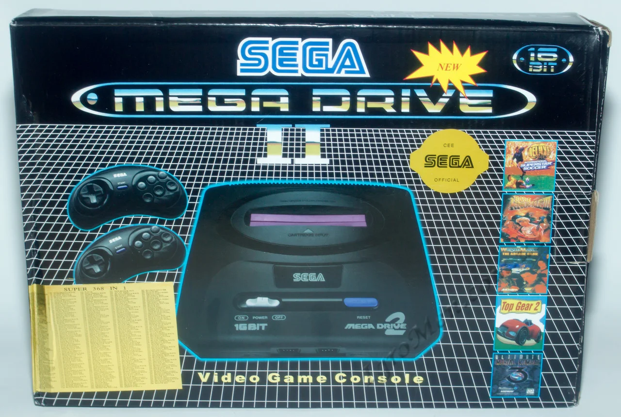 Приставка SEGA Bll Brilliant 16-Bit Graphics 500...