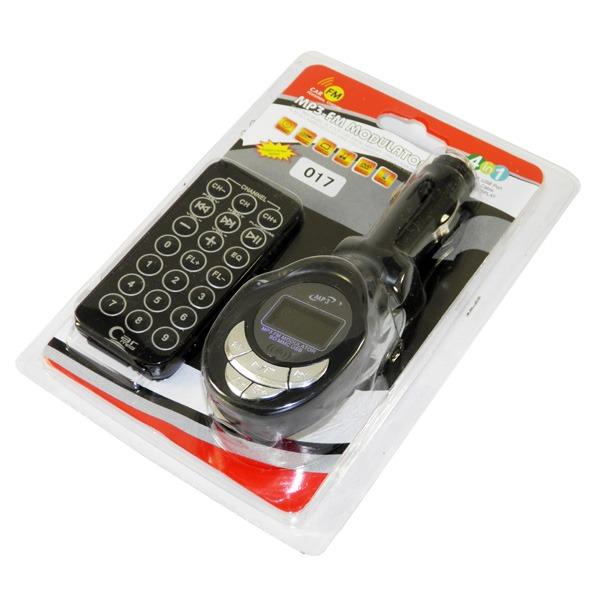FM модулятор 017 MicroSD / USB / пульт ДУ...