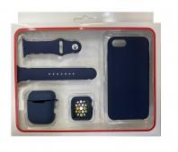 Набор 4в1 Silicone Case iPhone 6 / 6S Чехол...