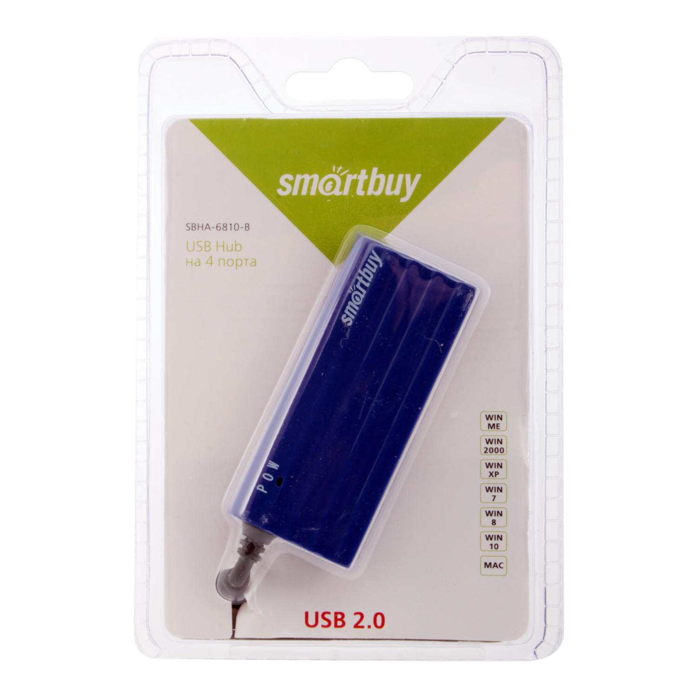 USB HUB SmartBuy SBHA-6810-W 4 USB...