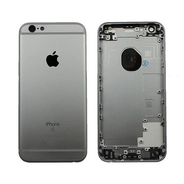 Задняя крышка iPhone 6S серый...